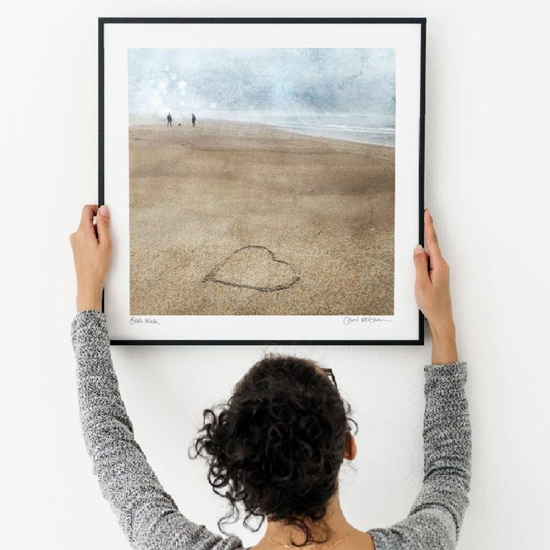 Beach Walk giclée print
