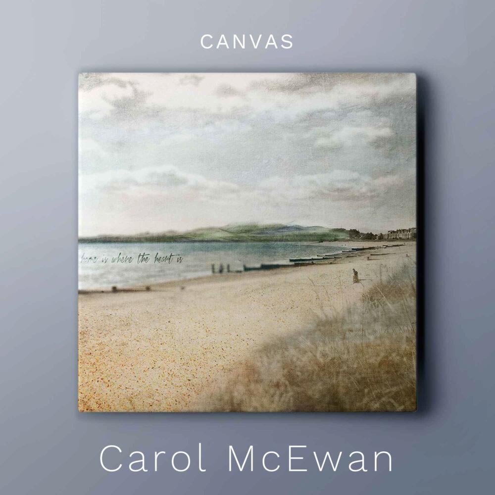 Broughty Ferry Beach canvas art print