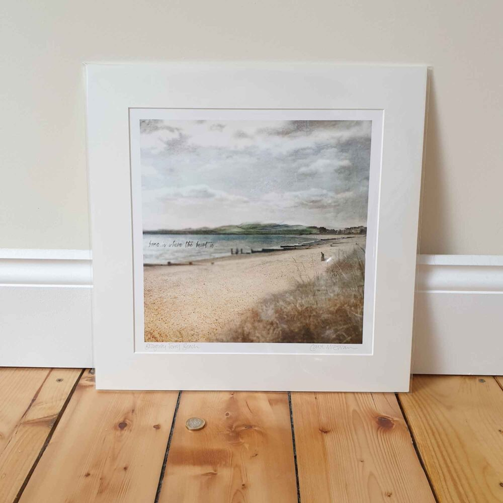 Broughty Ferry Mounted Print