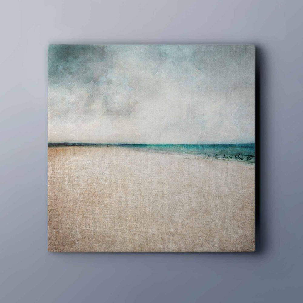 Kinshaldy Beach canvas