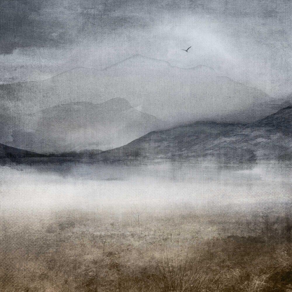 Loch Mist print closeup