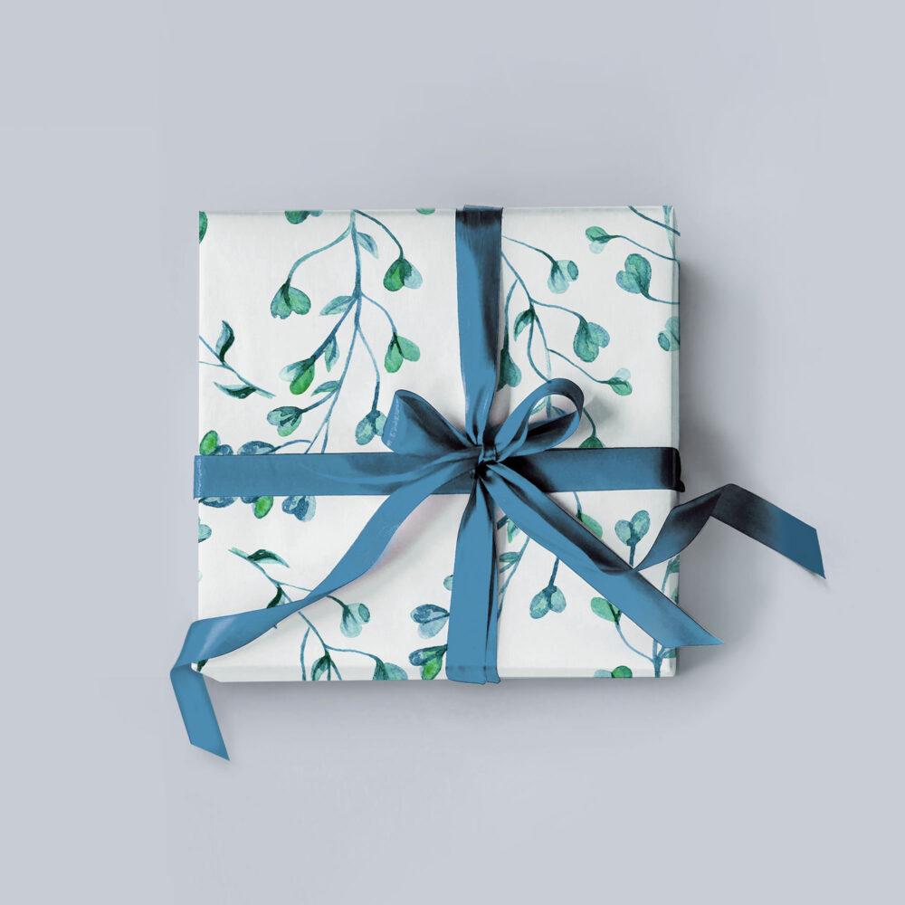 photo of gift wrap
