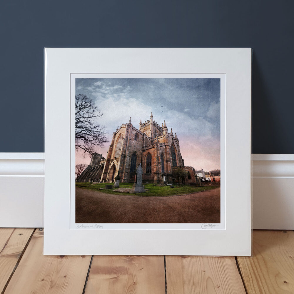 Dunfermline Abbey mounted print