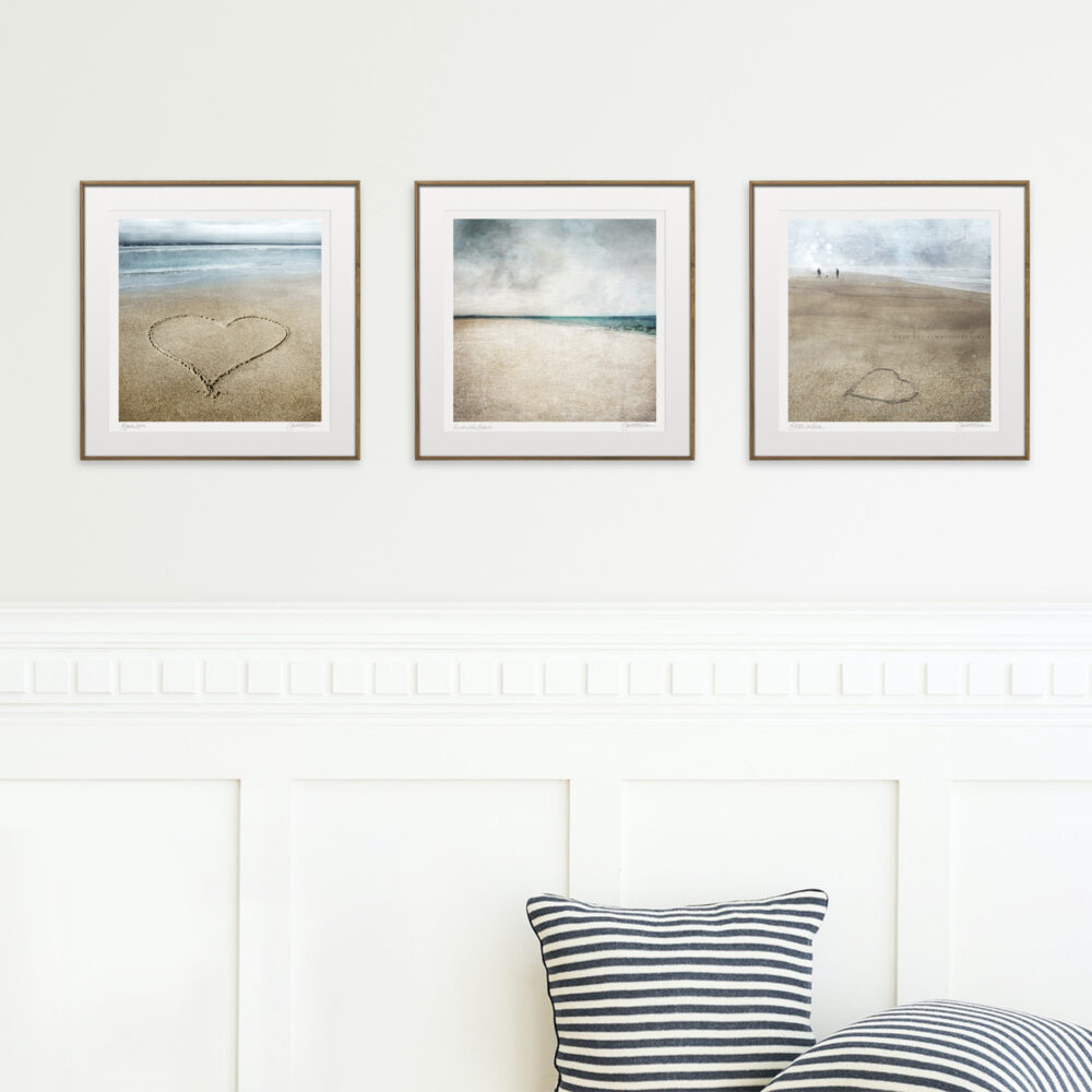 beach trio prints